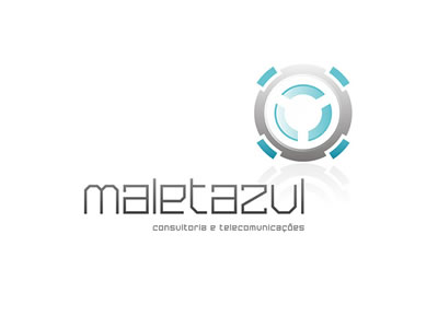 MALETAZUL logotipo by MCBS Multimedia