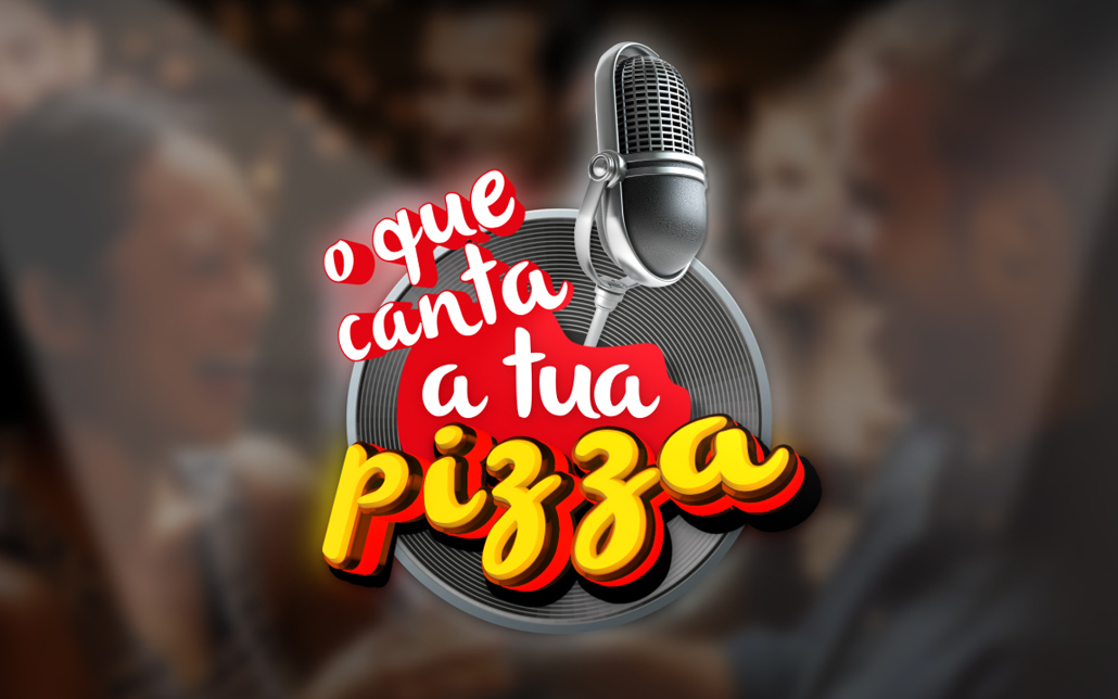 "PIZZA HUT, logotipo ""O que canta a tua pizza"". MCBS Multimedia"