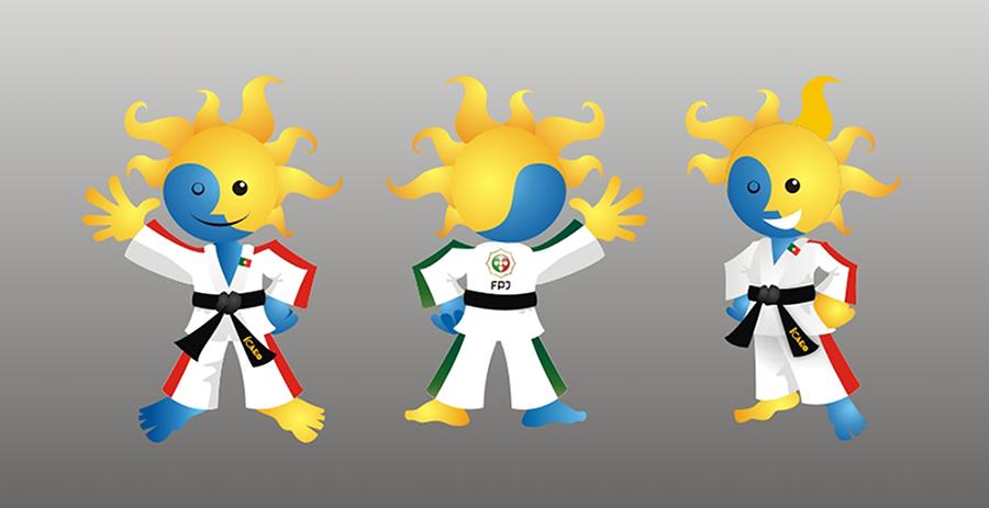 Design de mascote Ícaro para a FPJ - by MCBS Multimedia