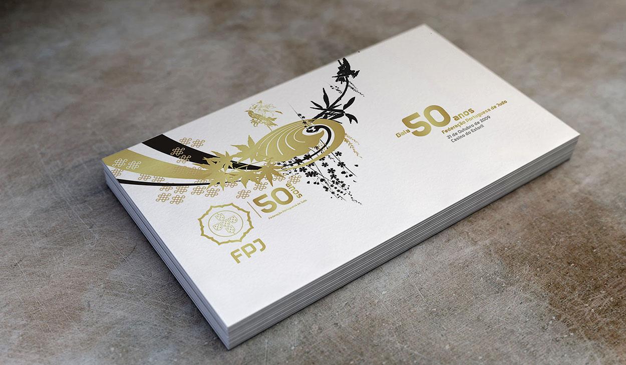 FPJ convite gala 50 anos , by MCBS Multimedia
