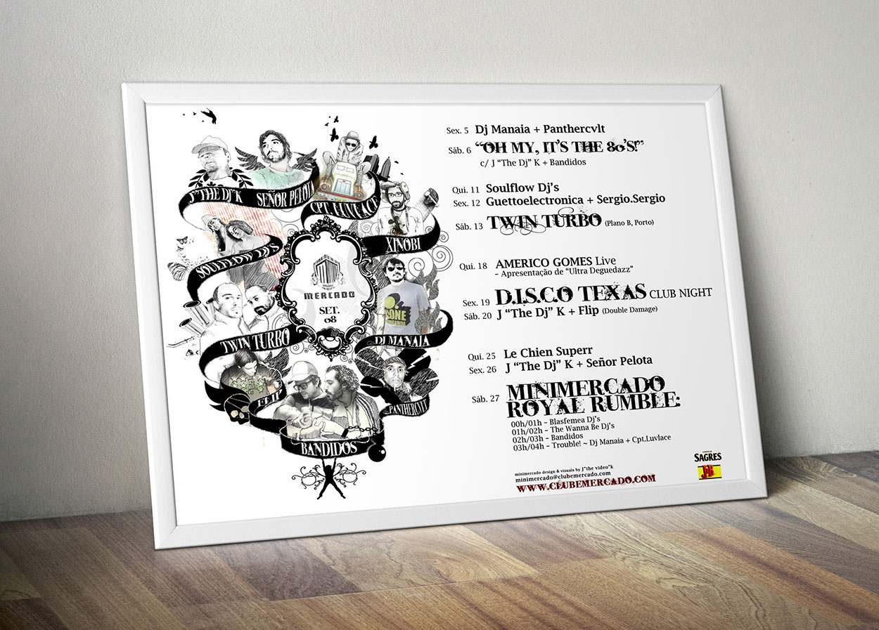 MINIMERCADO club, poster by MCBS Multimedia
