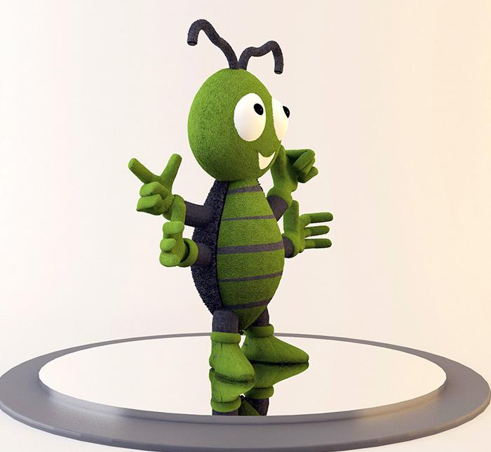 PIKY mascote