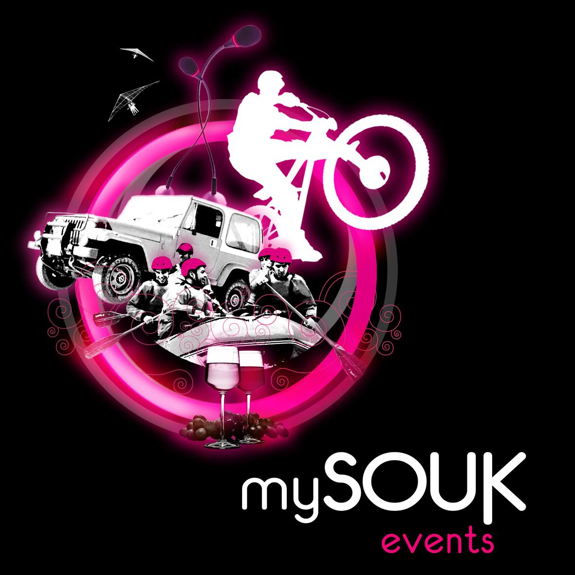 Logo mySOUK Events, by MCBS Multimedia