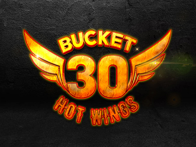 "KFC Portugal, logo ""BUCKET 30 HOT WINGS"". MCBS Multimedia"