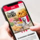 KFC Website Design