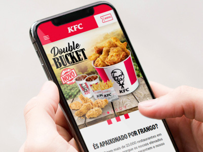 KFC Website Design