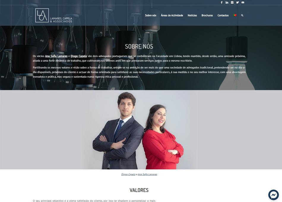 LAMARES & CAPELA_website by MCBS
