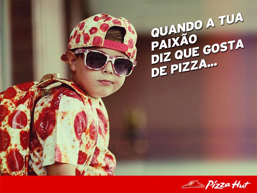 PIZZA HUT posts lúdicos by MCBS