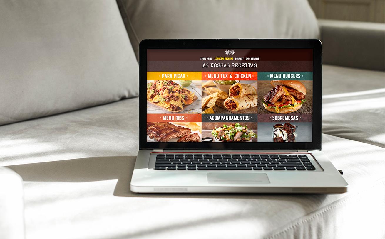 RIBS website by MCBS
