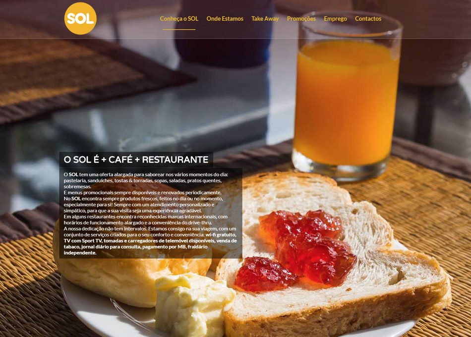SOL website by MCBS