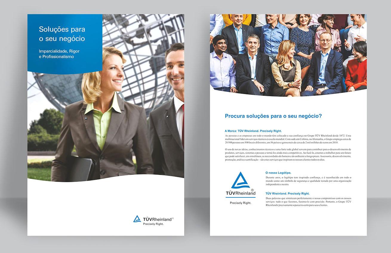 TÜV Rheinland Portugal brochura by MCBS