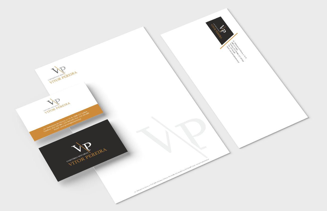 VITOR PEREIRA branding by MCBS