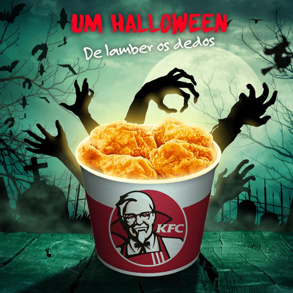 KFC Halloween - facebook post by MCBS