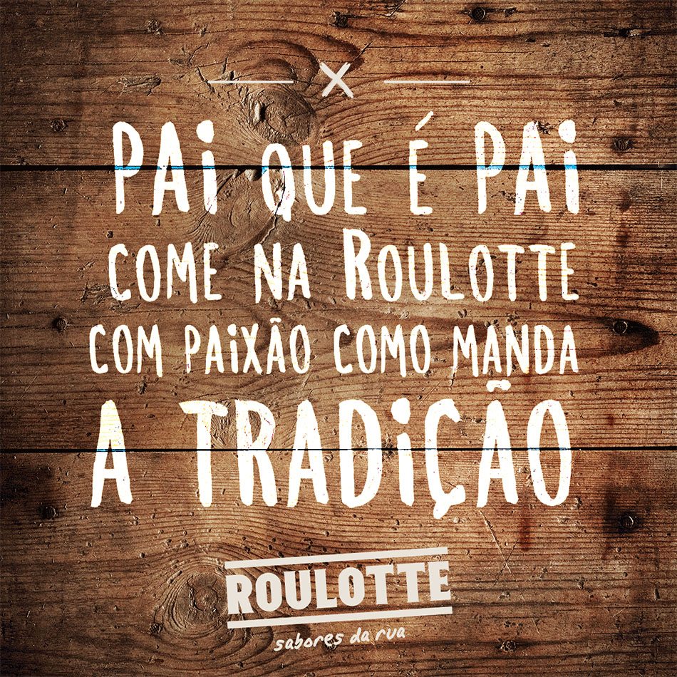 ROULLOTE Dia do Pai, post by MCBS