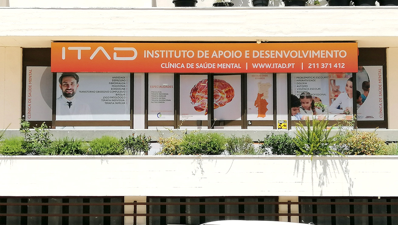 ITAD, Decoração de fachada. MCBS Multimedia